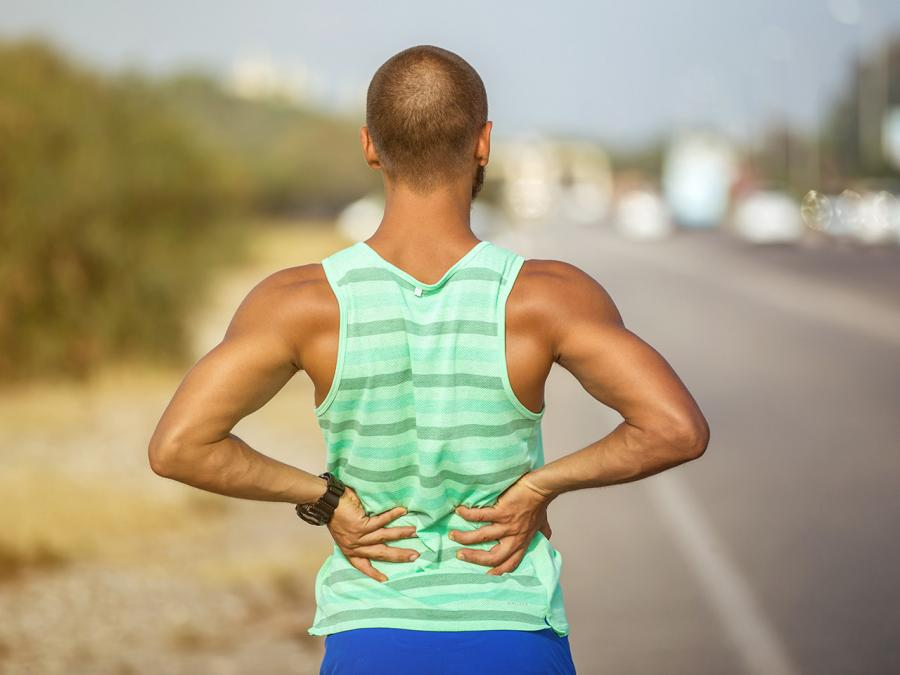 how to fix lower back pain at home